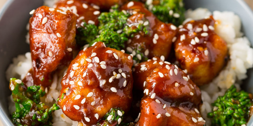 General tso chicken recipes easy