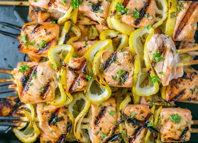 Easy grilled salmon marinade recipe