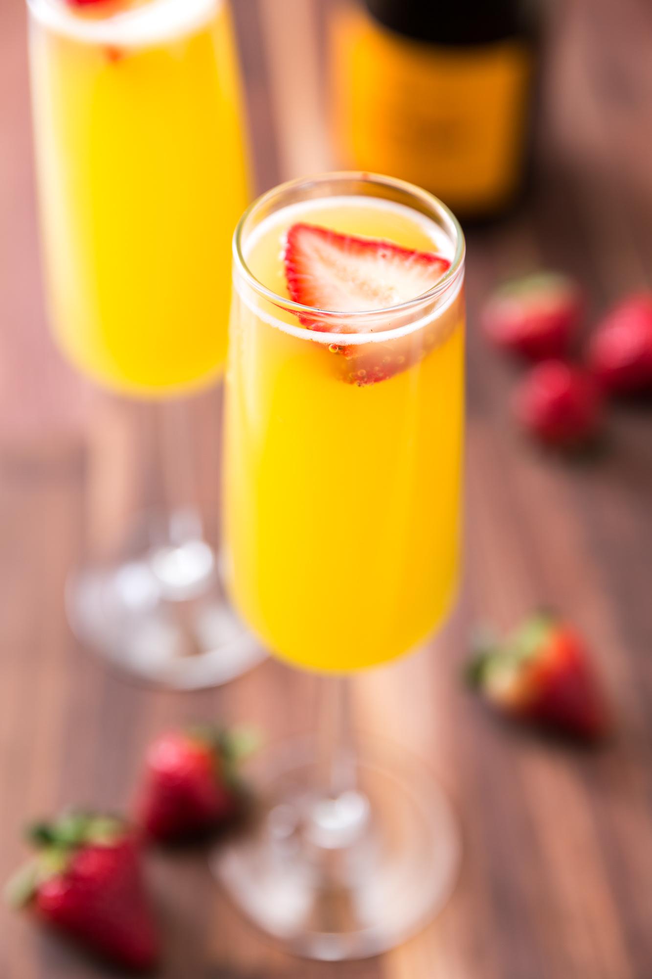 Best Pineapple Strawberry Mimosas Recipe How To Make Pineapple Strawberry Mimosas