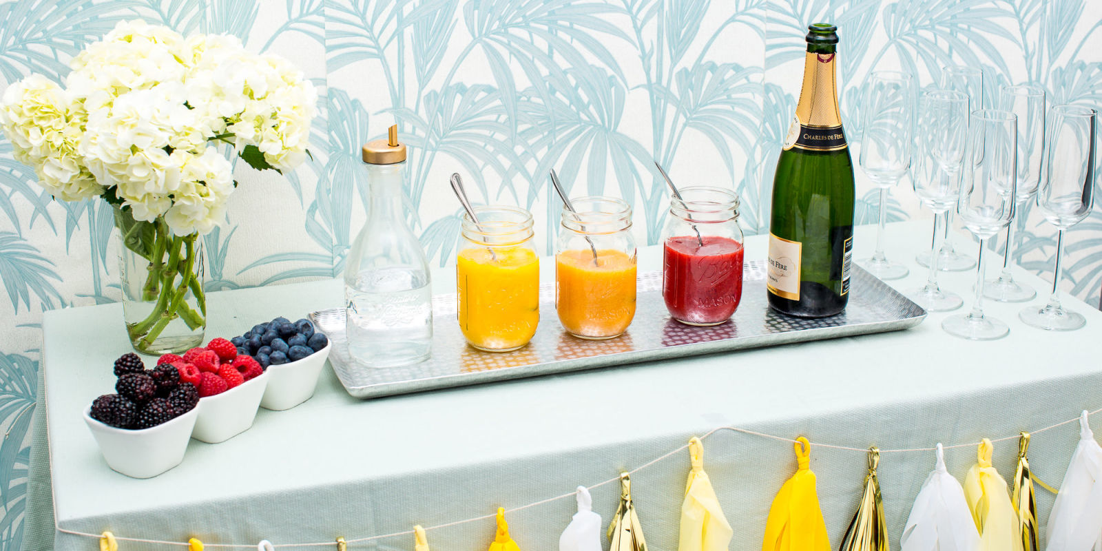 How To Make A Bellini Bar Bridal Shower Ideas