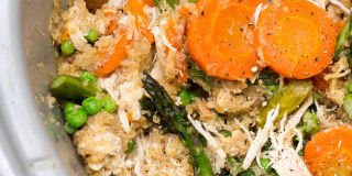 Slow-Cooker Spiced Chicken Stew with Carrots Recipe