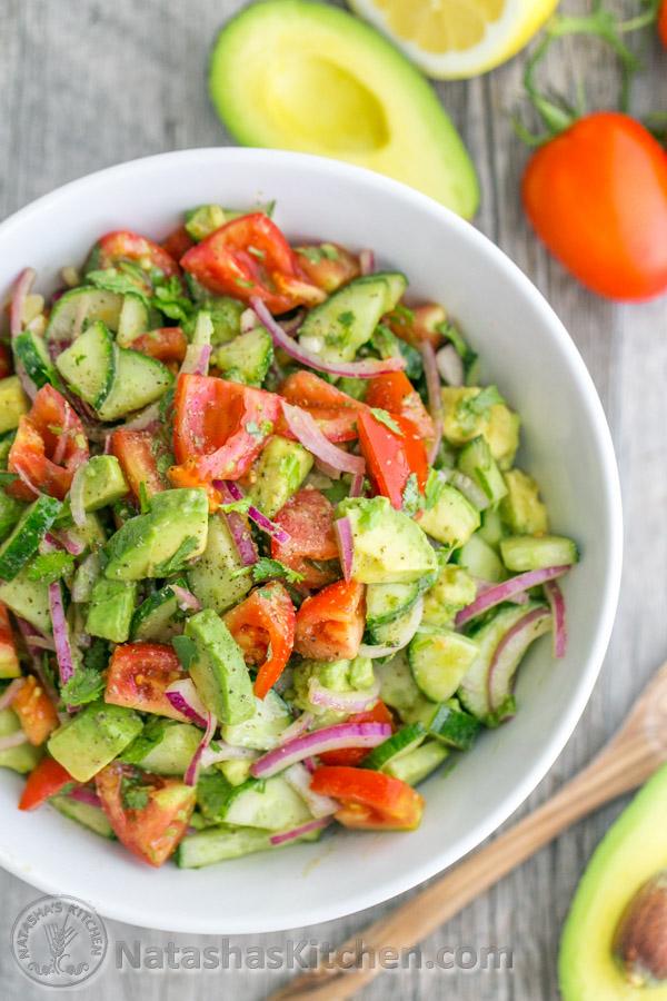 Recipes for tomato salad