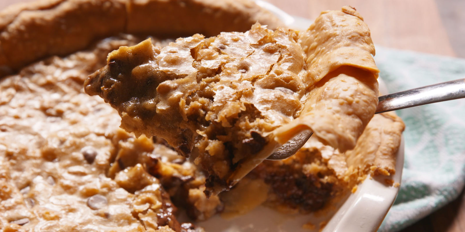 Best Chocolate Chip Cookie Pie Recipe - Delish.com