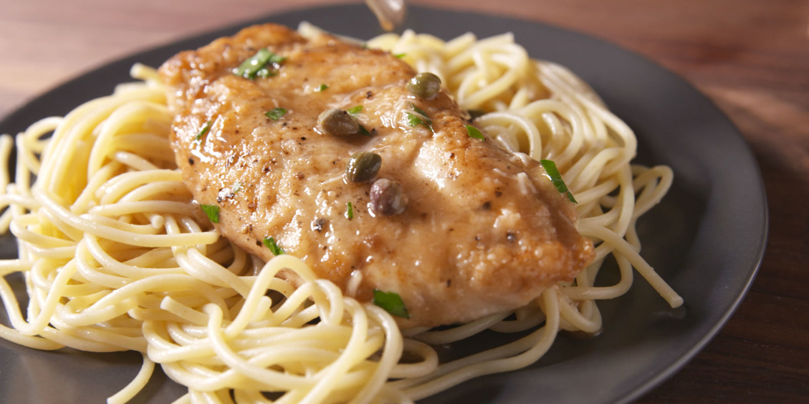 chicken piccata recipe Oven baked chicken thighs with capers, lemon, and garlic this baked chicken piccata takes about 40 minutes to make (most of which is idle baking time) and is a very flavorful weeknight dinner.