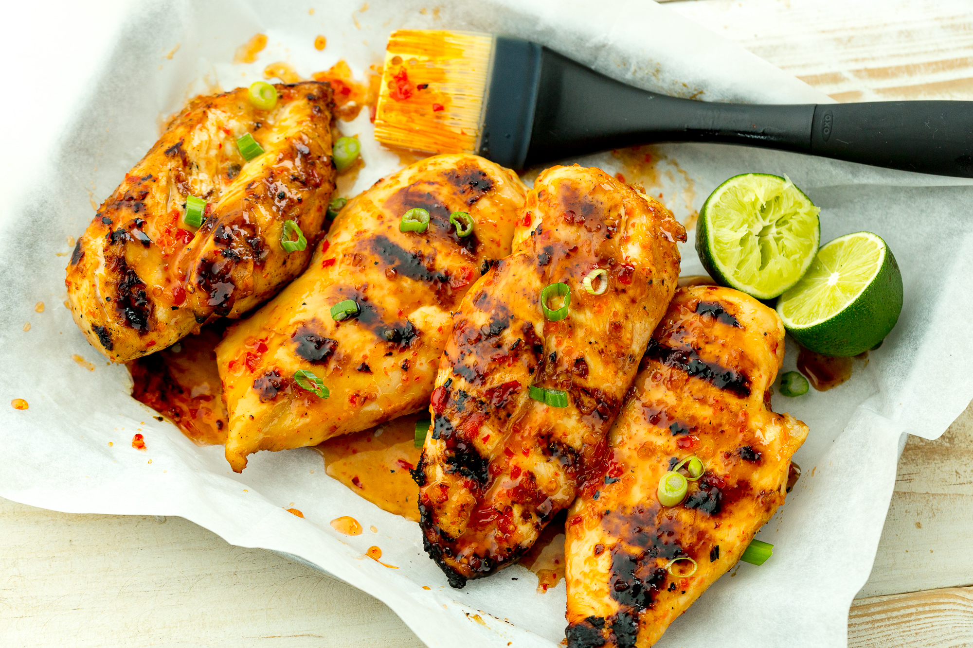 Best Sweet Chili Lime Grilled Chicken Recipe
