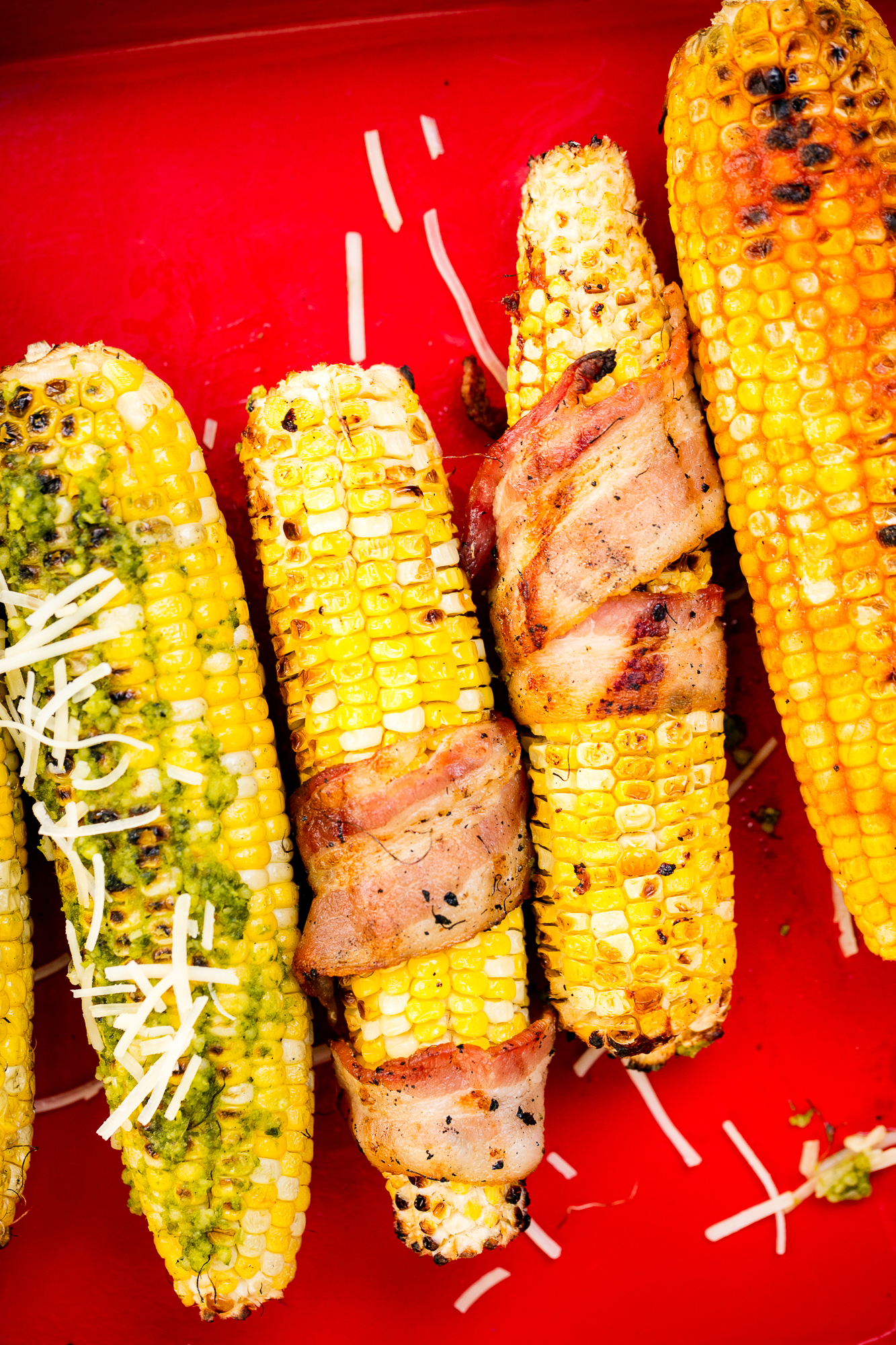 how to make grilled corn in the oven