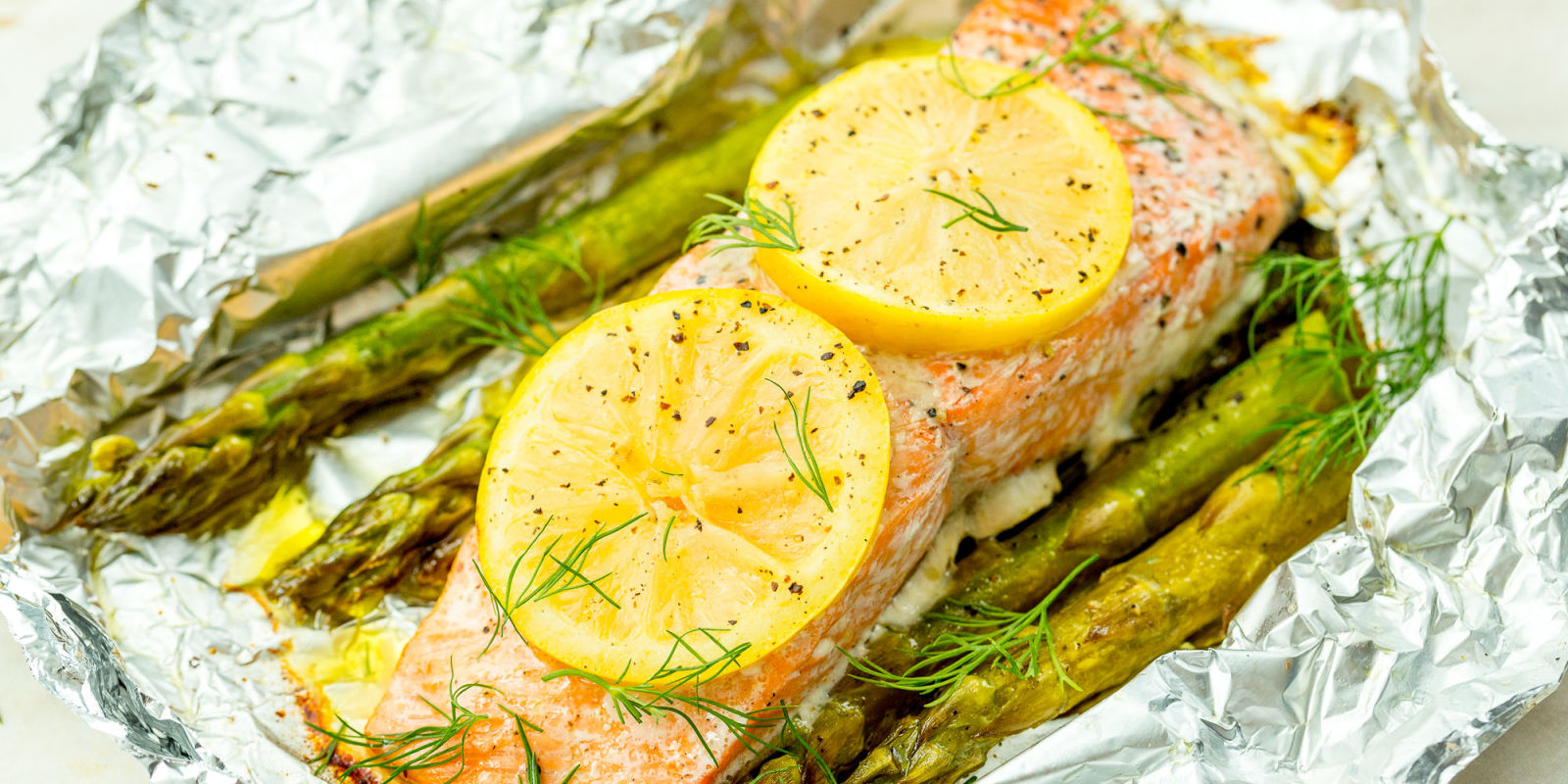 Best Grilled Salmon In Foil Recipe  How To Grill Salmon Foil Packets With  Asparagus  Delish