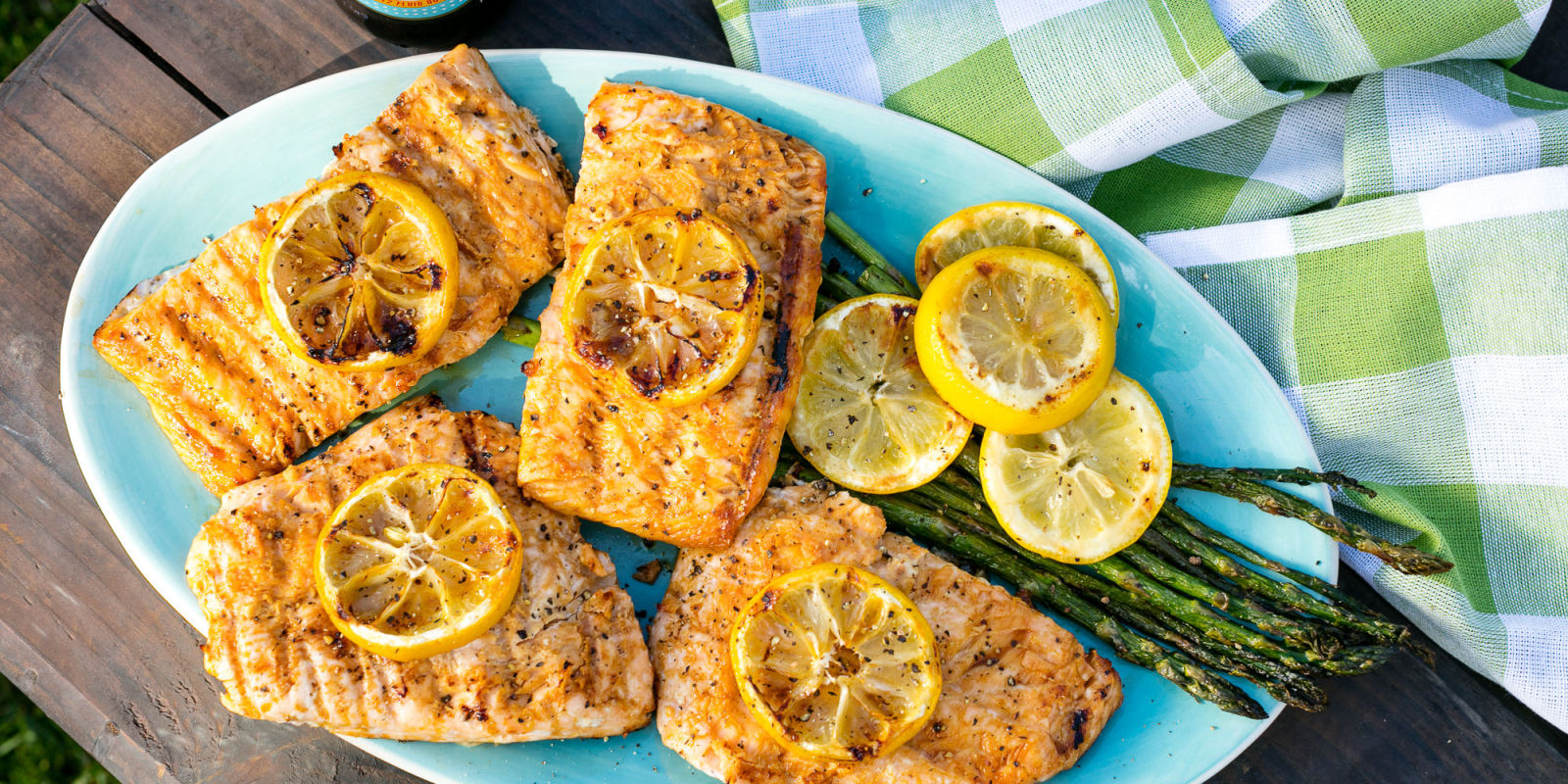 Best lemony grilled salmon recipe for Fish meal ideas