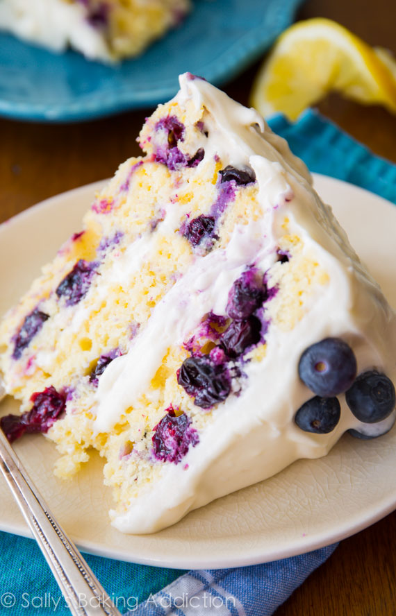 Lemon blueberry cake mix recipes Food world recipes