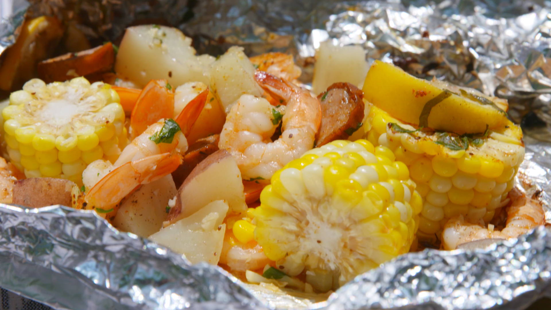 Best grilled shrimp foil packets recipe how to make What to make with shrimp for dinner