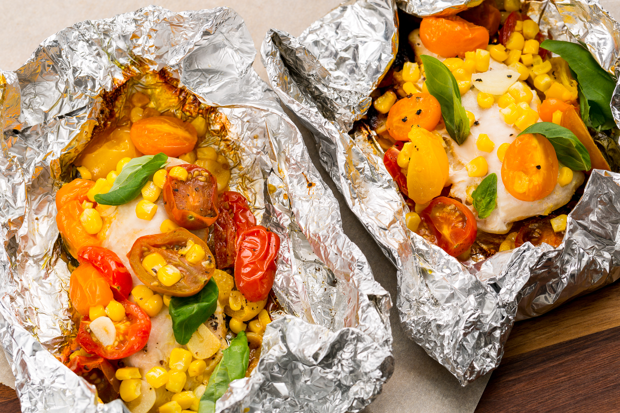 30 healthy grilling recipes healthy bbq ideas for the for Chicken and vegetables in foil packets recipe