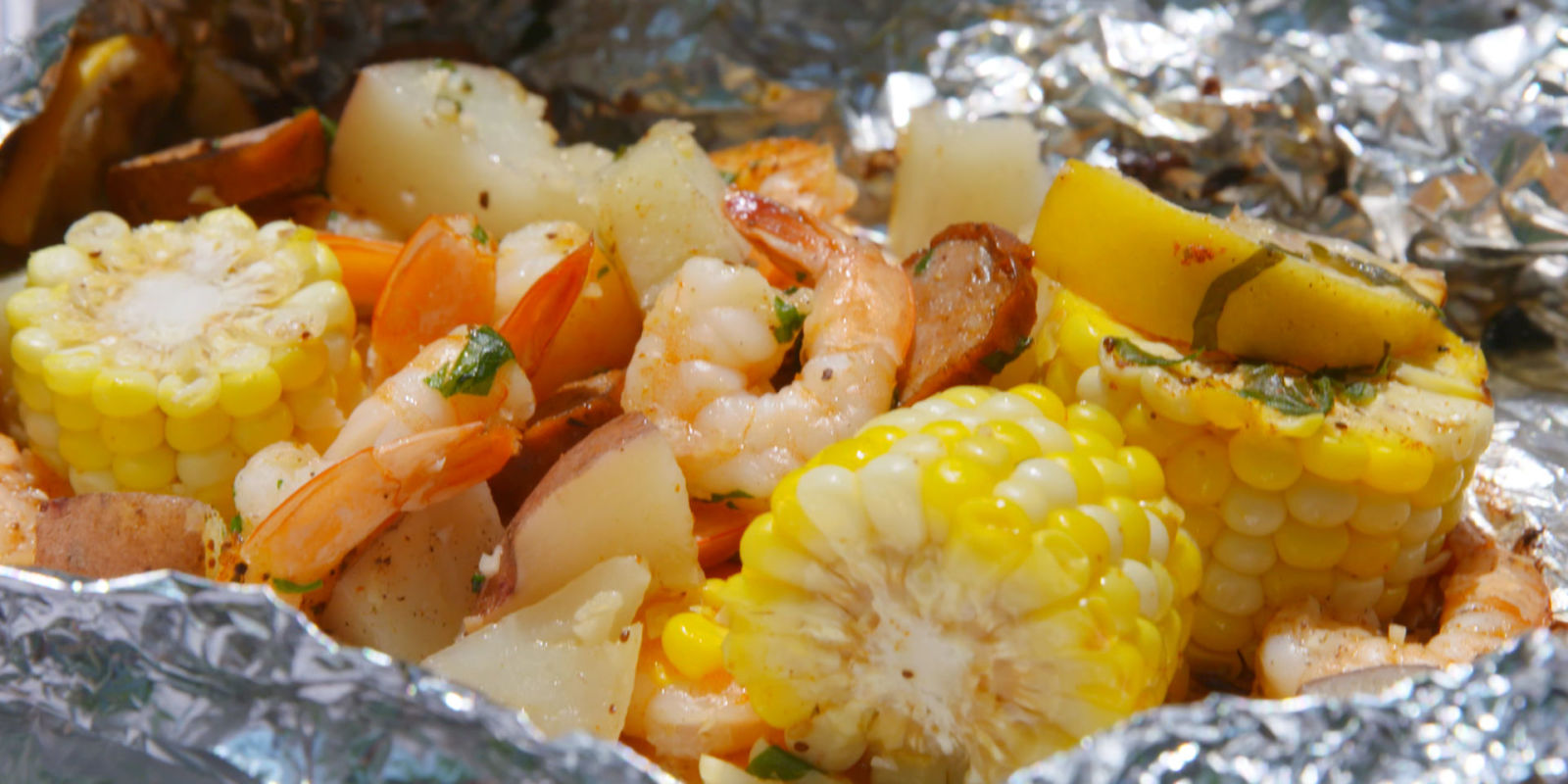 Best Grilled Shrimp Foil Packets Recipe  How To Make Grilled Shrimp Foil  Packets