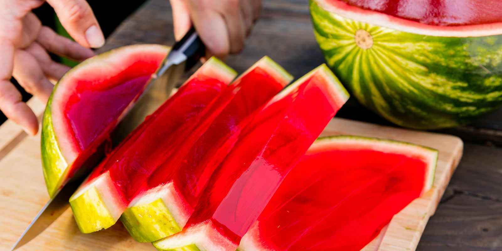 Lindsay Funston Watermelon Jell O Shots Giant Watermelon Jell O Shot