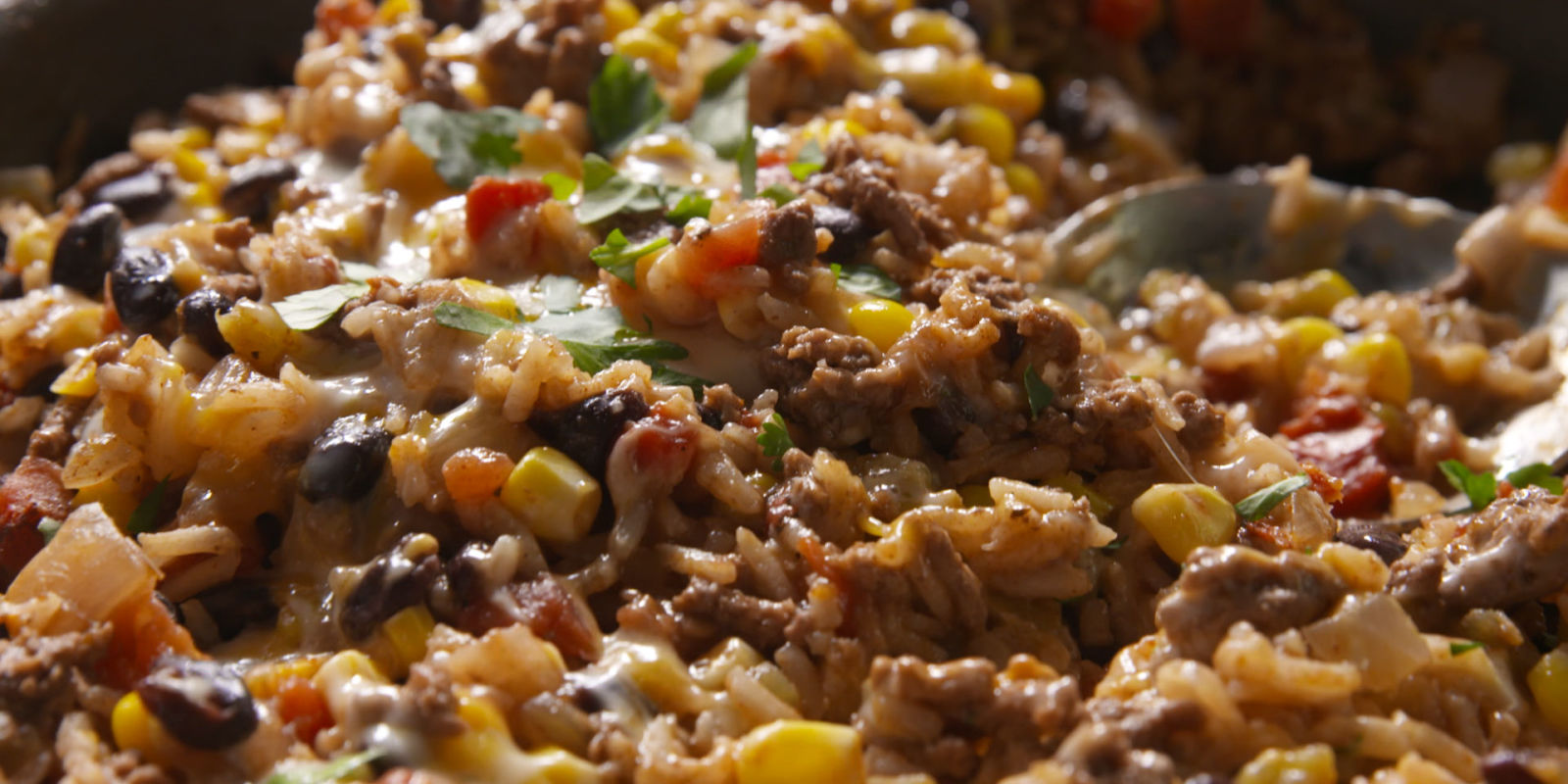 Cheesy Mexican RiceMexican Beef and Rice