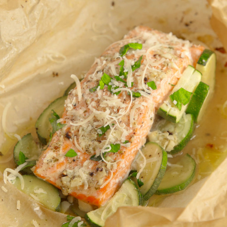 How To Make Garlic Butter Salmon