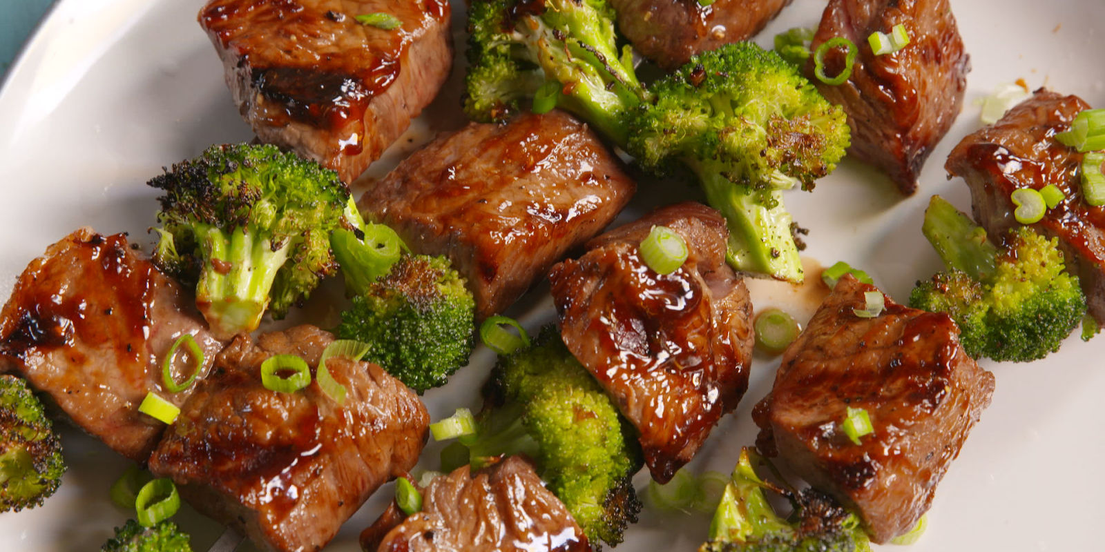 Best Beef And Broccoli Kebabs Recipe How To Make Beef