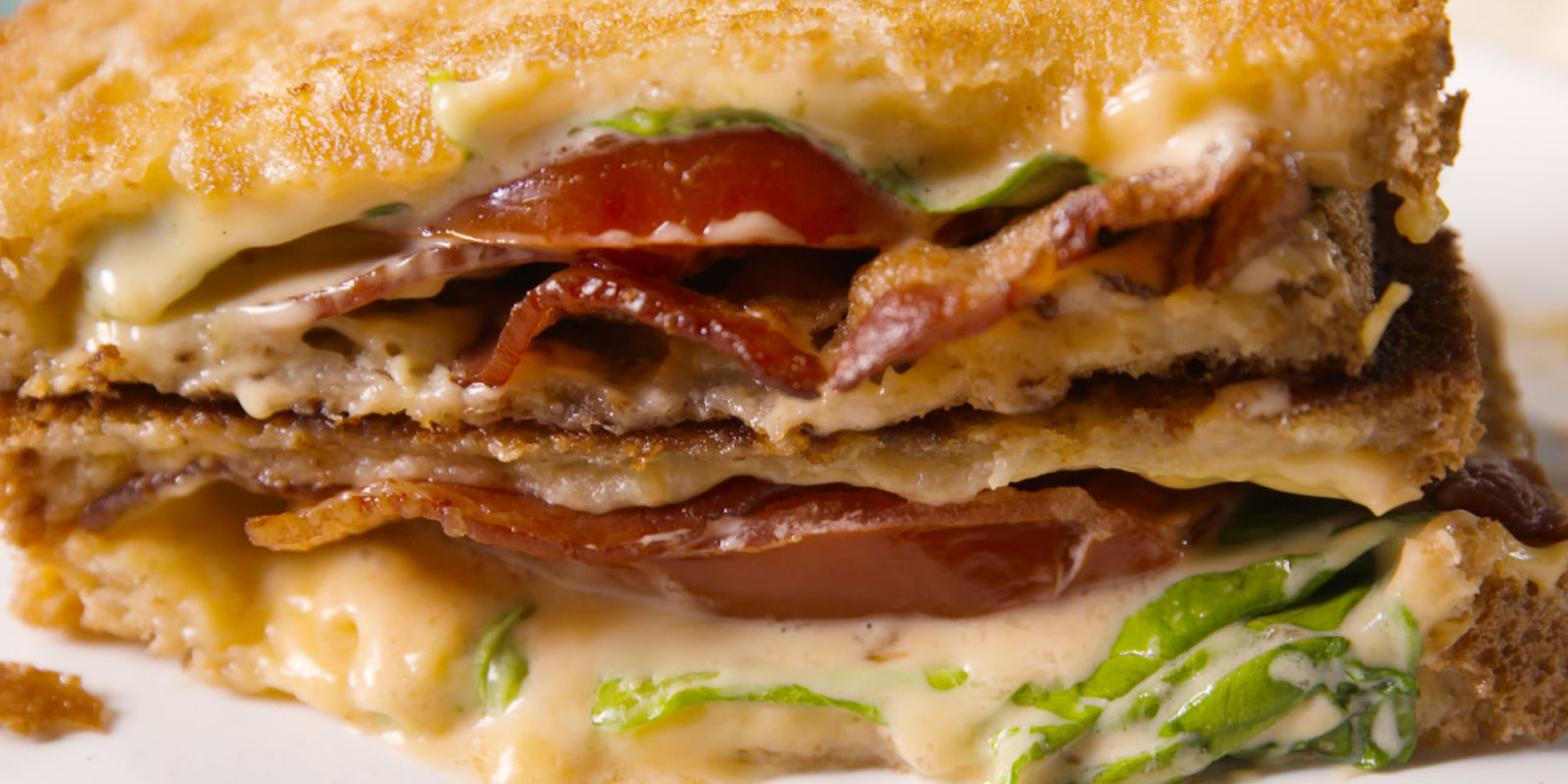 Best BLT Grilled Cheese Recipe - How To Make BLT Grilled Cheese