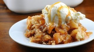 What is apple season without cobbler?