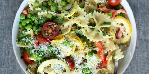 Lemon Primavera Bowtie Pasta Recipe