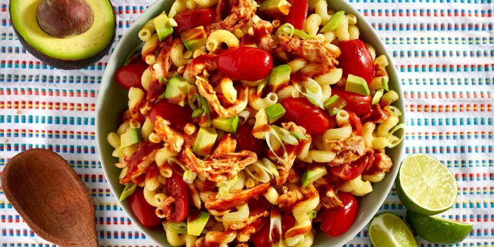 Bbq Chicken Salad Horizontal