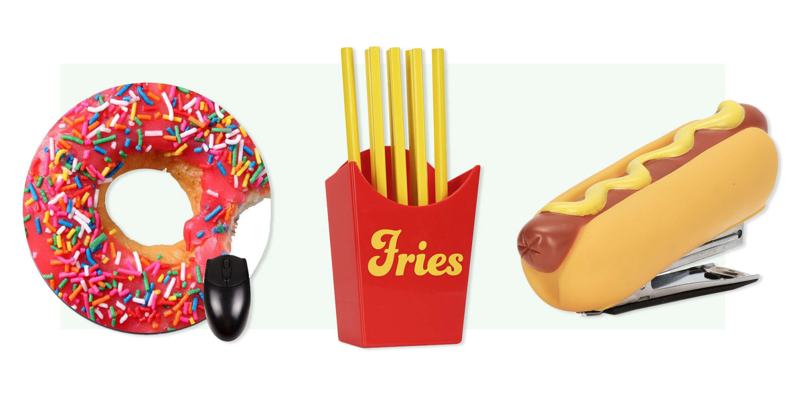 15 Food-Themed Desk Accessories You Need for Your Office