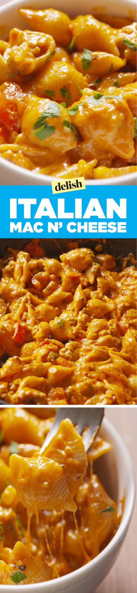 Best Italian Mac Amp Cheese Recipe How To Make Italian Mac