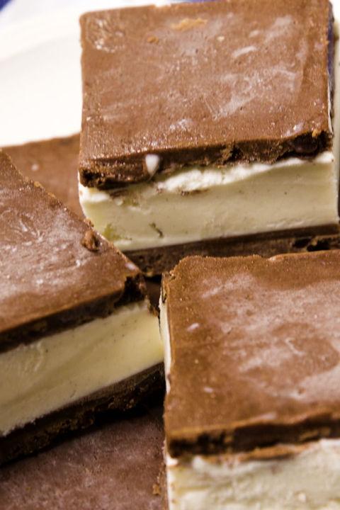 Brownie Batter Ice Cream Sandwiches Vertical
