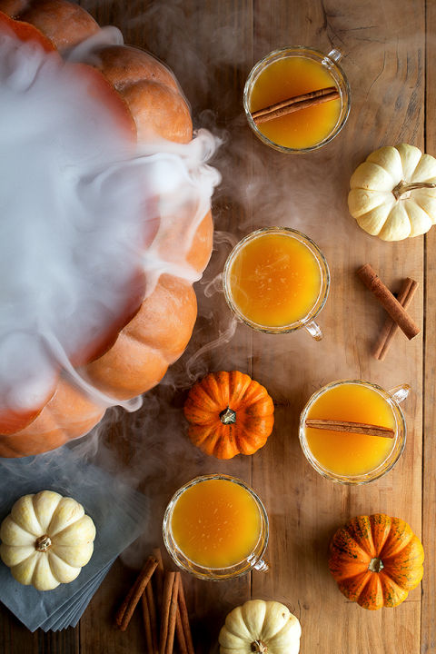 Spiked punch or witch's cauldron? Get the recipe from Honestly Yum.