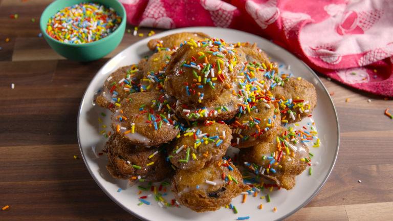 Funfetti Fried Oreos
