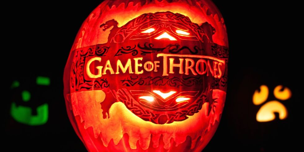 game of thrones pumpkin - Cool Halloween Pumpkin Designs