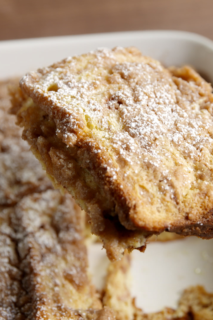 Cinnamon Swirl French Toast Bake Recipe - Delish.com