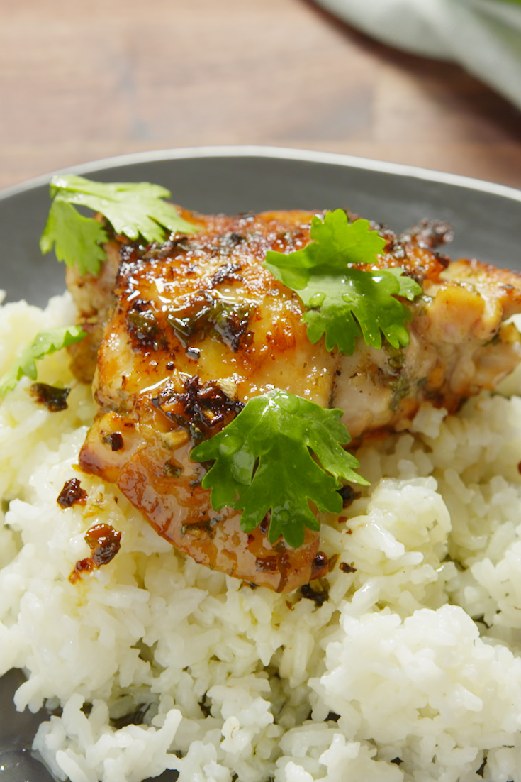 garlic lime cilantro chicken