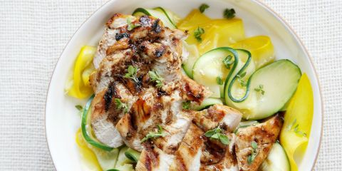 Balsamic Grilled Chicken and Zucchini Recipe