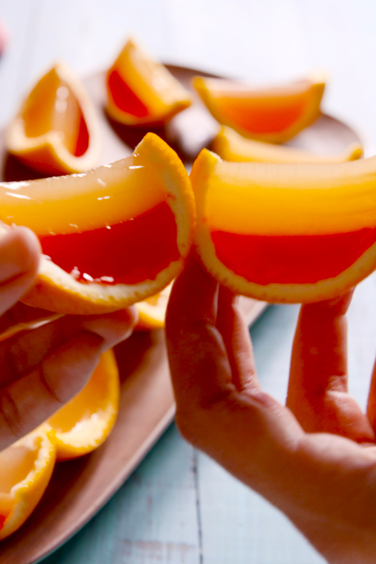 Best tequila sunrise jell o shots recipe how to make for Best tequila shot recipes