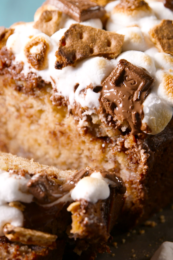 S'mores Banana Bread Recipe - Delish.com
