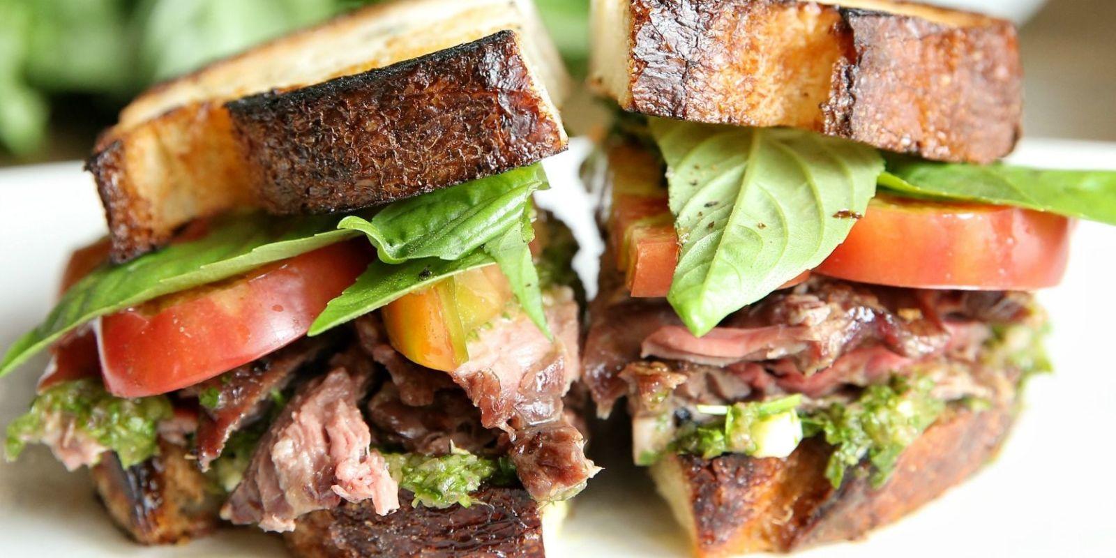 Best Chimichurri Steak Sandwich Recipe - Delish.com