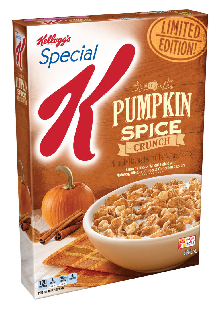 Image result for special k pumpkin spice