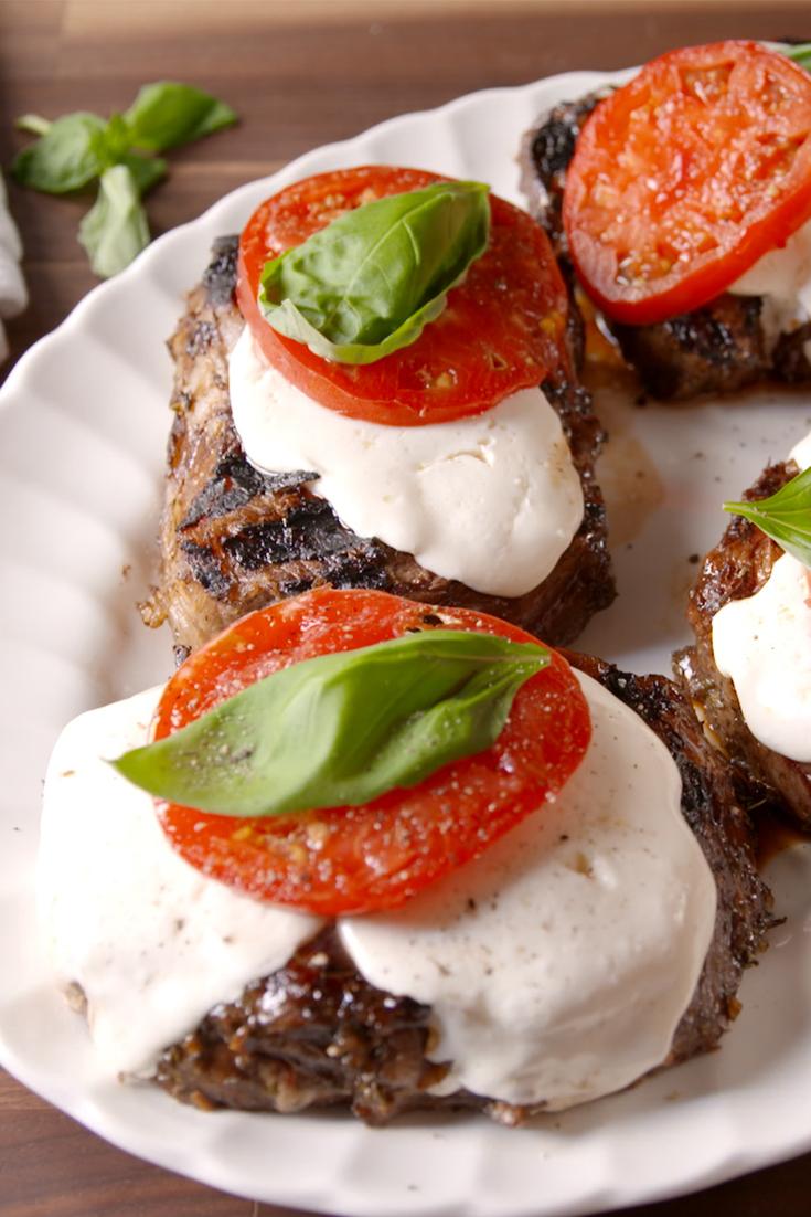 Best Caprese Steak Recipe