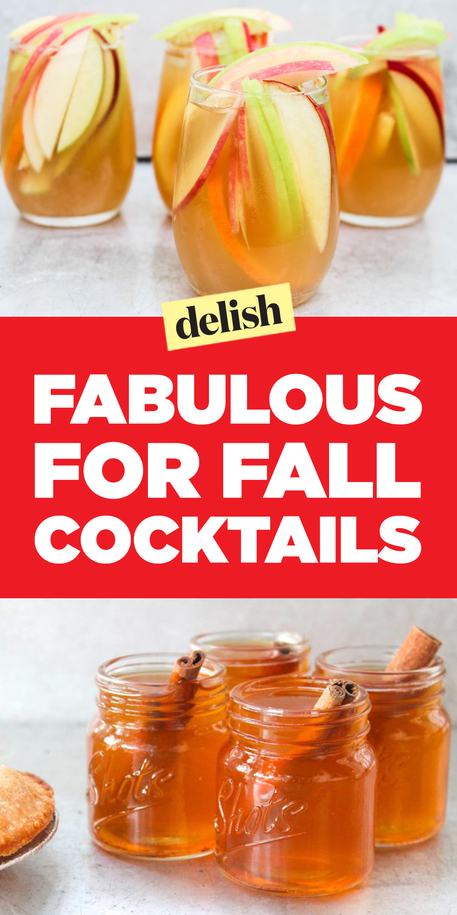 Let the Fall festivities begin by creating these craft autumn cocktails that you and.