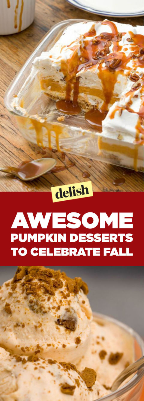Quick and easy pumpkin dessert recipes