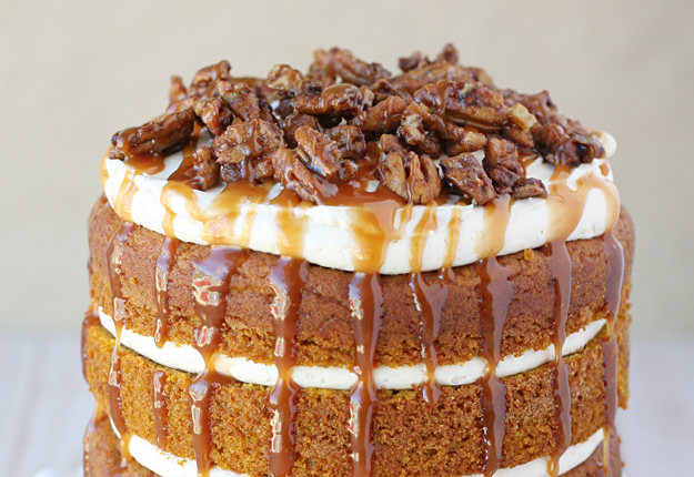 20 best fall cake ideas recipes for autumn cakes for Fall cake ideas