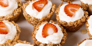 Greek Yogurt and Granola Cups