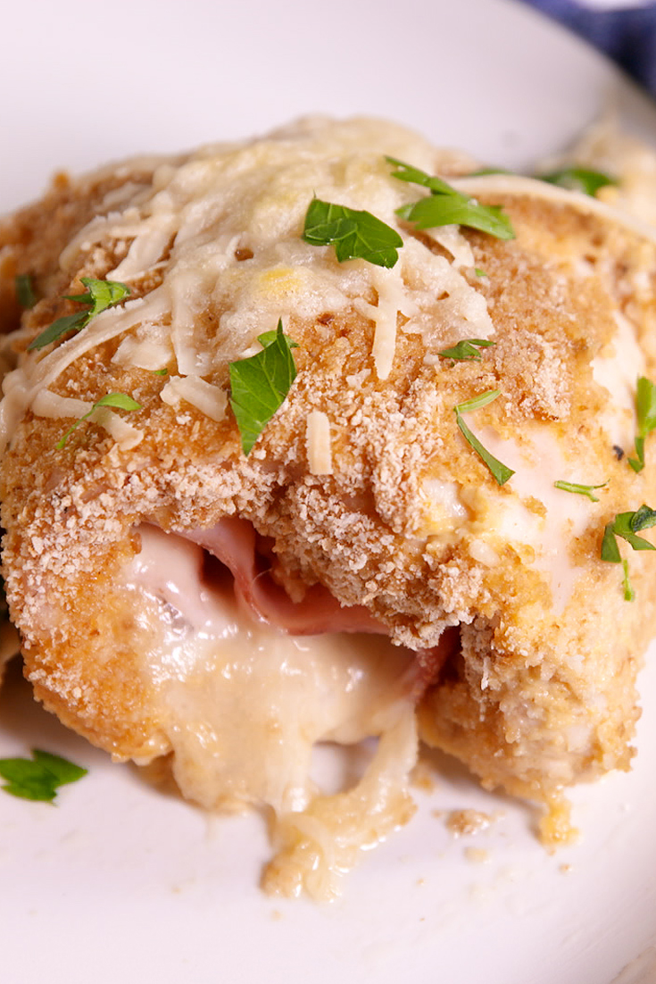 Best Chicken Cordon Bleu Roll Ups Recipe