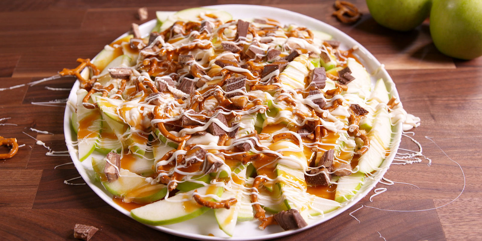 Lindsay Funston Best Apple Nachos Recipe How To Make Apple Nachos