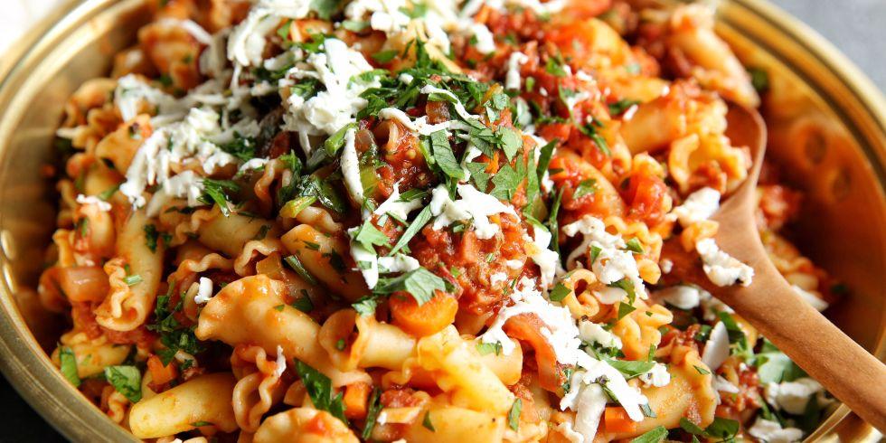 Chorizo Bolognese Pasta Recipe