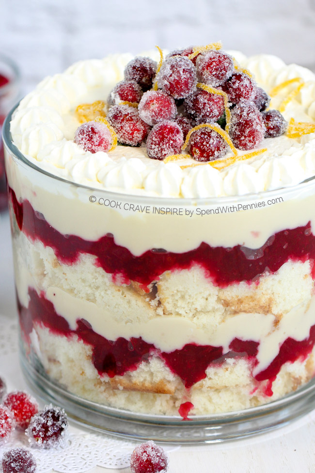 Trifle recipes for Easy holiday dessert recipes with pictures