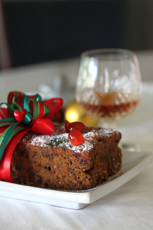 Rum Fruit Cake Cookies Recipe