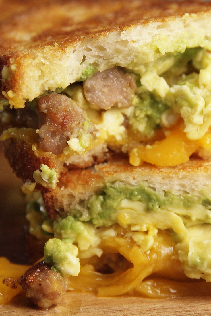 Best Breakfast Grilled Cheese Recipe - Delish.com