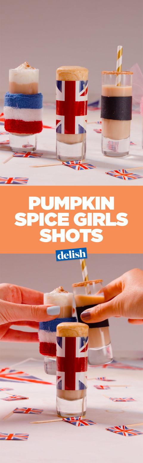 Pumpkin Spice Girls Shots