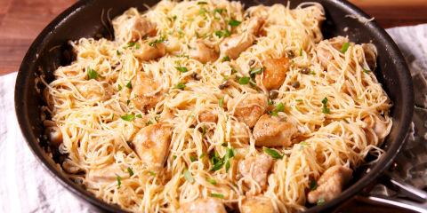 Chicken Piccata Horiztonal